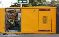 В Сумах жуткая авария маршрутки (Видео)